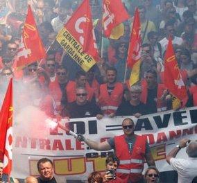 Το Παρίσι ξανά στο κόκκινο: Αιματηρά επεισόδια & εικόνες βίας έξω από τον Πύργο του Άιφελ με αίτημα εργασιακά  - Κυρίως Φωτογραφία - Gallery - Video