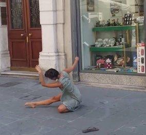 Εκπληκτικό βίντεο: Παλαιστίνια μπαλαρίνα χορεύει με την μουσική πλανόδιου βιολιστή στην Ιταλία - Κυρίως Φωτογραφία - Gallery - Video