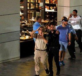 Βίντεο- σοκ: Η στιγμή της επίθεσης σε κατάστημα με τον κόσμο να τρέχει πανικόβλητος να σωθεί  - Κυρίως Φωτογραφία - Gallery - Video