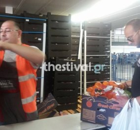 Εικόνες Βενεζουέλας σε διανομή τροφίμων στην Θεσσαλονίκη- Ένταση και ουρές - Κυρίως Φωτογραφία - Gallery - Video