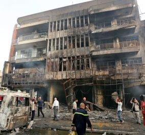 Στους 125 έφτασαν οι νεκροί από βομβιστική επίθεση του Ισλαμικού Κράτους στη Βαγδάτη - Κυρίως Φωτογραφία - Gallery - Video