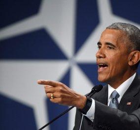Μπ. Ομπάμα: Η Ευρώπη μπορεί πάντα να βασίζεται στη στρατιωτική βοήθεια των ΗΠΑ  - Κυρίως Φωτογραφία - Gallery - Video