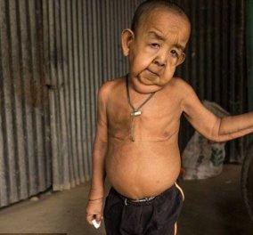 """Η απίστευτη ιστορία του Bayezid Hossain - Ο 4χρονος που οι γείτονές του αποκαλούν """"ο γέρος"""" - Κυρίως Φωτογραφία - Gallery - Video"""