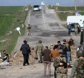 Συγκλονιστικό βίντεο από την επίθεση Κούρδων μαχητών του PKK εναντίον τουρκικής βάσης - 35 νεκροί από τη σύγκρουση - Κυρίως Φωτογραφία - Gallery - Video