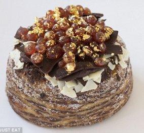 Είναι το πιο ακριβό γλυκό του κόσμου: 1.500 λίρες για μια τούρτα με ροζέ σαμπάνια, χαβιάρι και φύλλα χρυσού   - Κυρίως Φωτογραφία - Gallery - Video