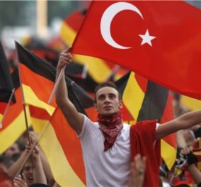 """Στα """"καρφιά"""" η Γερμανία: Δρακόντεια μέτρα ενόψει διαδήλωσης υπέρ του Ερντογάν στην Κολωνία - Κυρίως Φωτογραφία - Gallery - Video"""