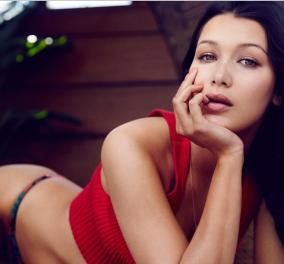 H Μπέλα Χαντίντ σέξι και όποιος αντέξει: Τοπλες στην νέα διαφήμιση της Calvin Klein  - Κυρίως Φωτογραφία - Gallery - Video