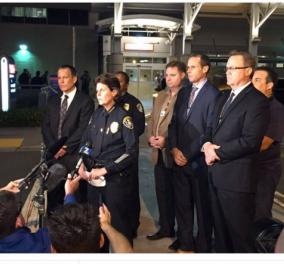 Τρόμος στις ΗΠΑ: Νεκρός ο ένας αστυνομικός που πυροβολήθηκε στo Σαν Ντιέγκο -Στο χειρουργείο ο δεύτερος - Κυρίως Φωτογραφία - Gallery - Video