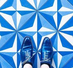 Πατάει με φίνα παπούτσια στα πιο εντυπωσιακά πατώματα του κόσμου - Στα ύψη το Instagram του - Κυρίως Φωτογραφία - Gallery - Video