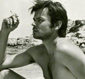 Αυτός ο ωραίος άνδρας & σπουδαίος ζωγράφος ο Γιώργος Λαζόγκας ζωγράφισε την Εφταλού του πριν 35 χρόνια  - Κυρίως Φωτογραφία - Gallery - Video