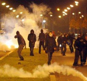 Έγινε η νύχτα - μέρα στο Παρίσι: Επεισόδια, συλλήψεις & μολότοφ - Κυρίως Φωτογραφία - Gallery - Video