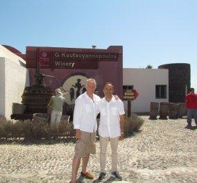 Η πρώτη φωτό από τις διακοπές Γ. Παπανδρέου - Τ. Μπλερ στην Σαντορίνη: Η βερμούδα & η πρόταση - Κυρίως Φωτογραφία - Gallery - Video