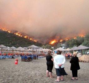 Κάηκαν δυο σπίτια - Σε κατάσταση έκτακτης ανάγκης η Χίος - Μάχη με τις φλόγες στα Μαστιχοχώρια – Τι δηλώνει ο δήμαρχος - Κυρίως Φωτογραφία - Gallery - Video