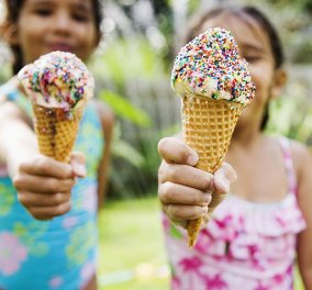 Summer@eirinika: ''Μαμά θέλω παγωτό'' – Μέχρι πόσα πρέπει να τρώει την εβδομάδα; - Κυρίως Φωτογραφία - Gallery - Video