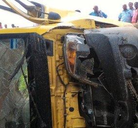 Βίντεο: Τραγωδία με 7 παιδιά νεκρά από σύγκρουση σχολικού λεωφορείου με τρένο - Τι συνέβη - Κυρίως Φωτογραφία - Gallery - Video