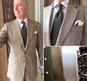 Γνωρίστε τον 59χρονο fashion icon που ρίχνει το Instagram με κάθε φωτογραφία του  - Κυρίως Φωτογραφία - Gallery - Video