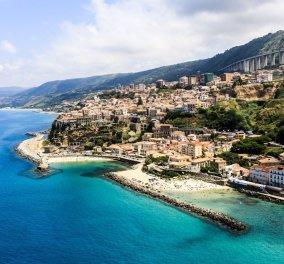 Βίμπο Βαλέντια: Οι ομορφιές την νότιας Ιταλίας μας παίρνουν τα μυαλά - Υπέροχες παραλίες με γαλαζοπράσινα νερά   - Κυρίως Φωτογραφία - Gallery - Video