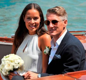 Ο πιο αθλητικός γάμος του καλοκαιριού στη Βενετία: Η Σέρβα καλλονή τενίστρια Ιβάνοβιτς & ο Γερμανός Σβαϊνστάιγκερ - Φώτο  - Κυρίως Φωτογραφία - Gallery - Video