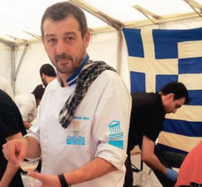 Good news: Ουρές για γαμοπίλαφο & ντάκο στις Βρυξέλλες από βραβευμένο Έλληνα σεφ   - Κυρίως Φωτογραφία - Gallery - Video