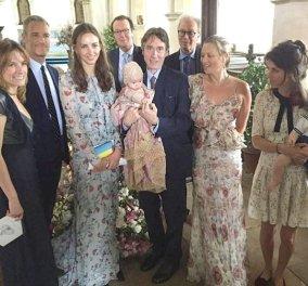 Η Κέιτ Μος έδωσε το όνομα Ίρις στην βαφτιστήρα της & φόρεσε φλοράλ φόρεμα του Alexander MacQueen - Κυρίως Φωτογραφία - Gallery - Video