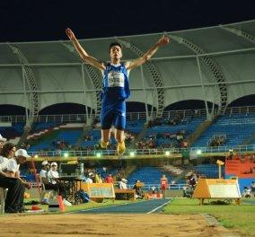 Good News: Σάρωσε στο Παγκόσμιο Νέων ο Μ. Τέντογλου - Ασημένιο μετάλλιο στο μήκος - Κυρίως Φωτογραφία - Gallery - Video