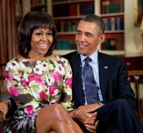 Μπάρακ Ομπάμα σε tweet - ερωτική εξομολόγηση: Σε αγαπώ, Μισέλ - Περήφανοι και ευλογημένοι που σε έχουμε ως Πρώτη Κυρία - Κυρίως Φωτογραφία - Gallery - Video