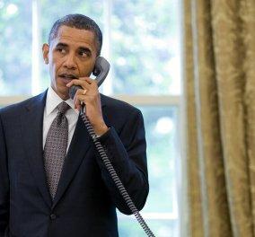 Πρώτη τηλεφωνική επικοινωνία Ομπάμα - Τερέζα Μέι: Τι τόνισε ο Αμερικανός πρόεδρος   - Κυρίως Φωτογραφία - Gallery - Video
