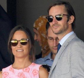 Βέρα στο δεξί για την Πίπα Μίντλετον: Η αδερφή της Κέιτ παντρεύεται τον καλλονό 40χρονο επιχειρηματία  Τζέιμς Μάθιους - Κυρίως Φωτογραφία - Gallery - Video