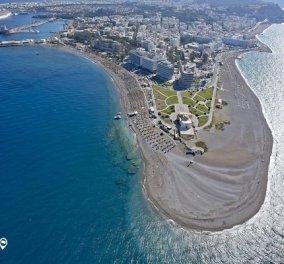 Ρόδος: Eirinika & TripInView μας ''ταξιδεύουν'' στο νησί των Ιπποτών – Θέα από τα σύννεφα  - Κυρίως Φωτογραφία - Gallery - Video