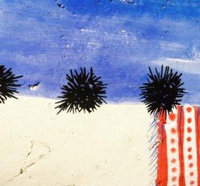 Αποκλ. φωτό: Τους πιο ωραίους αχινούς του καλοκαιριού ζωγράφισε μοναδικά η εξαιρετική καλλιτέχνης Βάσω Τρίγκα  - Κυρίως Φωτογραφία - Gallery - Video