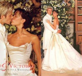 Βικτόρια & Ντέιβιντ Μπέκαμ έκλεισαν 17 χρόνια γάμου: Φωτό από την τελετή - υπερπαραγωγή - Κυρίως Φωτογραφία - Gallery - Video