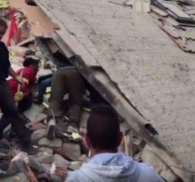 Σεισμός στην Ιταλία: Συγκλονίζει βίντεο με τη διάσωση μικρού κοριτσιού από τα συντρίμμια  - Κυρίως Φωτογραφία - Gallery - Video