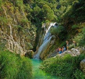 Οι ωραιότεροι καταρράκτες στην Ελλάδα: Γιατί η μαγεία και η δροσιά είναι στα κρυστάλλινα, γαλαζοπράσινα νερά   - Κυρίως Φωτογραφία - Gallery - Video