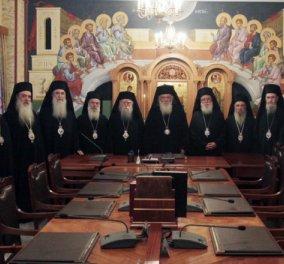 Ιερά Σύνοδος: Πληρώσαμε συνολικά 3,5 εκατ. για φόρους στο δημόσιο   - Κυρίως Φωτογραφία - Gallery - Video