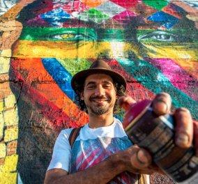 Η «τέχνη του δρόμου» στο Ρίο 2016: Το μεγαλύτερο γκράφιτι του κόσμου είναι εδώ! - Κυρίως Φωτογραφία - Gallery - Video