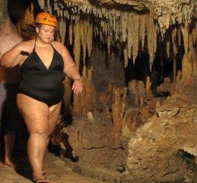 Είδε αυτή την φωτογραφία με τον εαυτό της στα 120 κιλά και τώρα έγινε κορμάρα   - Κυρίως Φωτογραφία - Gallery - Video
