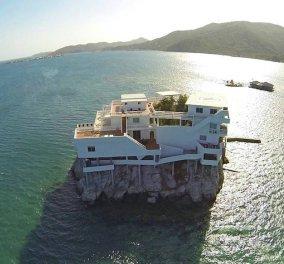 Μια πολυτελής βίλα στη μέση της Θάλασσας της Καραϊβικής! Αυτό είναι το μοναδικό Dunbar Rock! - Κυρίως Φωτογραφία - Gallery - Video