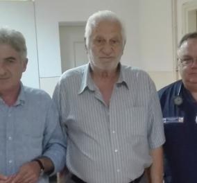 Made in Greece o Θόδωρος Καρυπίδης: Έφυγε από την Κοζάνη για Καναδά - Επέστρεψε στα 77 του με δωρεά για το Μαμάτσειο νοσοκομείο  - Κυρίως Φωτογραφία - Gallery - Video