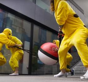 Ξεκαρδιστικό Video: Μεταμφιέστηκαν πίκατσου & κυνηγούν όσους παίζουν Pokemon Go - Κυρίως Φωτογραφία - Gallery - Video