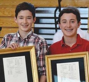 Απίθανο! Δύο 14χρονοι φίλοι βρήκαν το κόλπο για να μην πέφτει το παγωτό χωνάκι στα χέρια και πήραν 50.000 δολάρια - Κυρίως Φωτογραφία - Gallery - Video