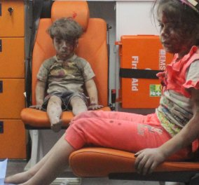 O φωτογράφος του 5χρονου - συμβόλου του πολέμου μιλά για τον μικρό Omran: Δεν ήξερε τι είχε συμβεί - Ήταν σε κατάσταση σοκ - Κυρίως Φωτογραφία - Gallery - Video