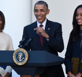 H 15χρονη κόρη του Ομπάμα έγινε... σερβιτόρα - Η Σάσα δουλεύει σκληρά για το χαρτζιλίκι της - Κυρίως Φωτογραφία - Gallery - Video