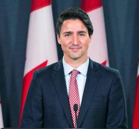 Ο Τζάστιν Τριντό σε νέες περιπέτειες: Ο πρωθυπουργός του Καναδά κάνει ημίγυμνος photobombing σε γαμήλια φωτογραφία - Κυρίως Φωτογραφία - Gallery - Video