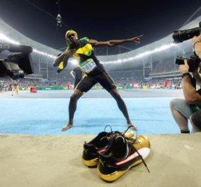 Σαν τον άνεμο: Δείτε καρέ- καρέ το πέταγμα του Μπολτ στη κούρσα των 100 μ - Εικόνες και βίντεο του φτερωτού Τζαμαϊκανού  - Κυρίως Φωτογραφία - Gallery - Video