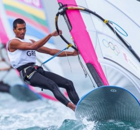 Good News - Ρίο 2016: Στην 3η θέση της γενικής κατάταξης στην κατηγορία RS:X ο ιστιοπλόος Βύρων Κοκκαλάνης  - Κυρίως Φωτογραφία - Gallery - Video