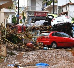 Σε κατάσταση έκτακτης ανάγκης κηρύχθηκε η Καλαμάτα και οι περιοχές της Μεσσηνίας που χτυπήθηκαν από την κακοκαιρία - Κυρίως Φωτογραφία - Gallery - Video