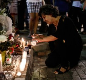 Συγκίνηση στην συγκέντρωση για την επέτειο της δολοφονίας του Π. Φύσσα: Η Μάγδα Φύσσα στο μνημείο του γιού της (φωτό) - Κυρίως Φωτογραφία - Gallery - Video