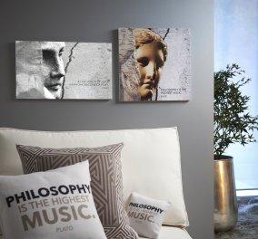 Made In Greece το Sophia.com: Το πιο stylish, υψηλού γούστου Eshop με αγαλματάκια, μαξιλάρια & πιάτα που θα λατρέψετε  - Κυρίως Φωτογραφία - Gallery - Video
