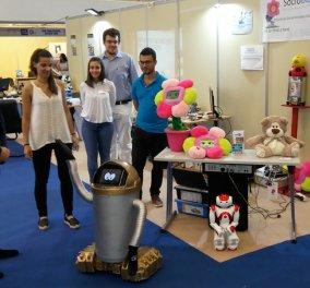 "Made in Greece o ""Νάο"" - Το πρώτο ""ποντιακό"" ρομπότ από το Παν. Μακεδονίας - Κυρίως Φωτογραφία - Gallery - Video"