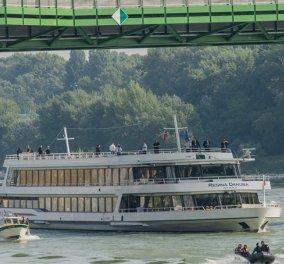 Ω, ω, ω κρουαζιέρα θα σε πάω: Οι Ευρωπαίοι ηγέτες σαλπάρουν για δείπνο σε πλοίο στον Δούναβη – cheers! - Κυρίως Φωτογραφία - Gallery - Video